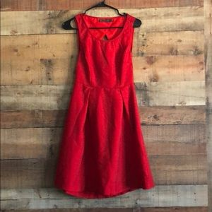 Outback Red size 2 fit and flare dress - good cond